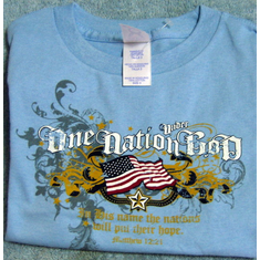 One Nation-Child & Youth -T-Shirt- 3T