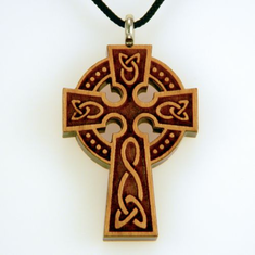 Orthodox Ornate Cross Pendant-88A