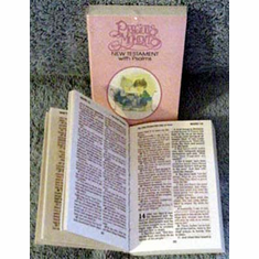Precious Moments New Testament With Psalms