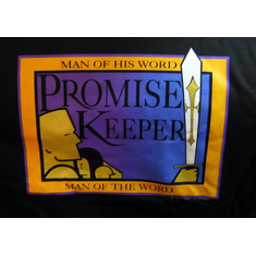 Promise Keepers-Real Men Love Jesus-T-Shirt - Large