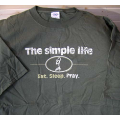 Simple Life-T-Shirt-3XLarge