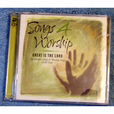 Songs 4 Worship: Great Is the Lord -2 CDs