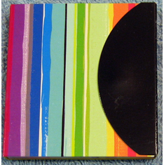 Sticky Notes Flags-Vibrant Stripes