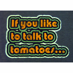Talk to Tomatoes youth T-shirt
