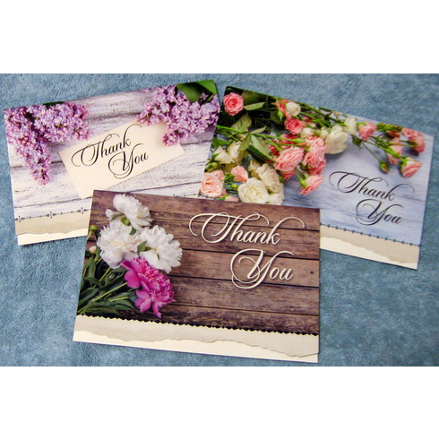 thank you with gratitude 12 greeting cards - Discount Greeting Cards