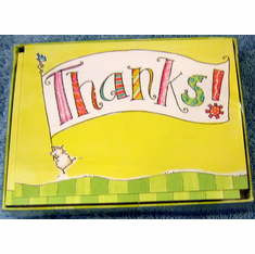Thanks! -Blank Boxed Notes