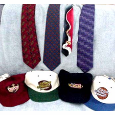 Ties, Caps, Socks & Belts