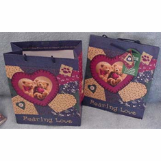 Two Bearing Love Gift Bags