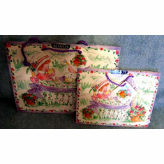 Two Gift Bags--Tea Party