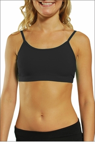 Crop Bound Tank (Black) by Hardtail