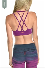Double Cross Bra (Orchid) by Hardtail