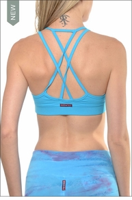 Double Cross Bra (Surf) by Hardtail