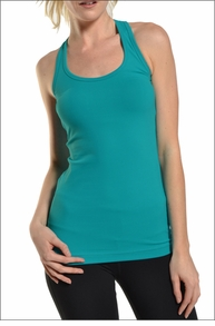 Supplex Long Skinny Racer Tank (Mermaid) by Hardtail