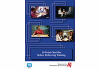 10-Point Checklist Before Delivering Training (Enhanced DVD)