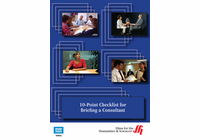 10-Point Checklist for Briefing a Consultant (Enhanced DVD)