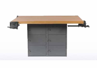 4-Station Workbench w/0 vises  (Quick Ship)-37 Wt-220/205