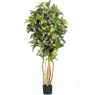 Nearly Natural 5' Croton Silk Tree