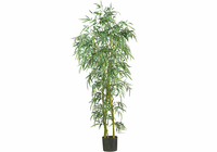 Nearly Natural 6' Fancy Style Slim Bamboo Silk Tree