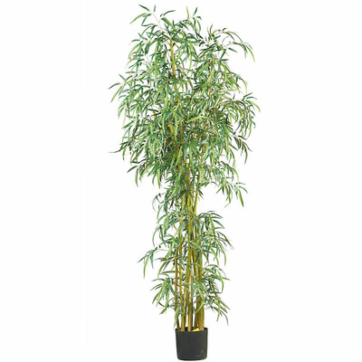 Nearly Natural 7' Fancy Style Slim Bamboo Silk Tree