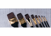 "RICHESON 7010 Quiller Flat Series (Set of 3 brushes - sizes 1/8"", 1/4"" and 1/2"")"