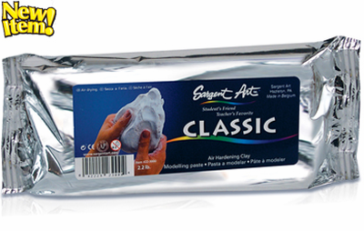 Sargent Art Air Hardening Clay - 2.2 lb. - Click to enlarge