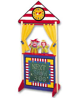 ALEX TOYS' Puppet Theatre with Clock