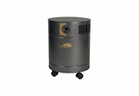 AllerAir 5000 MCS Supreme Air Purifier (powder coated carbon filter, shielded cable added)