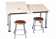 ALTD-2 Adaptable Drawing Table
