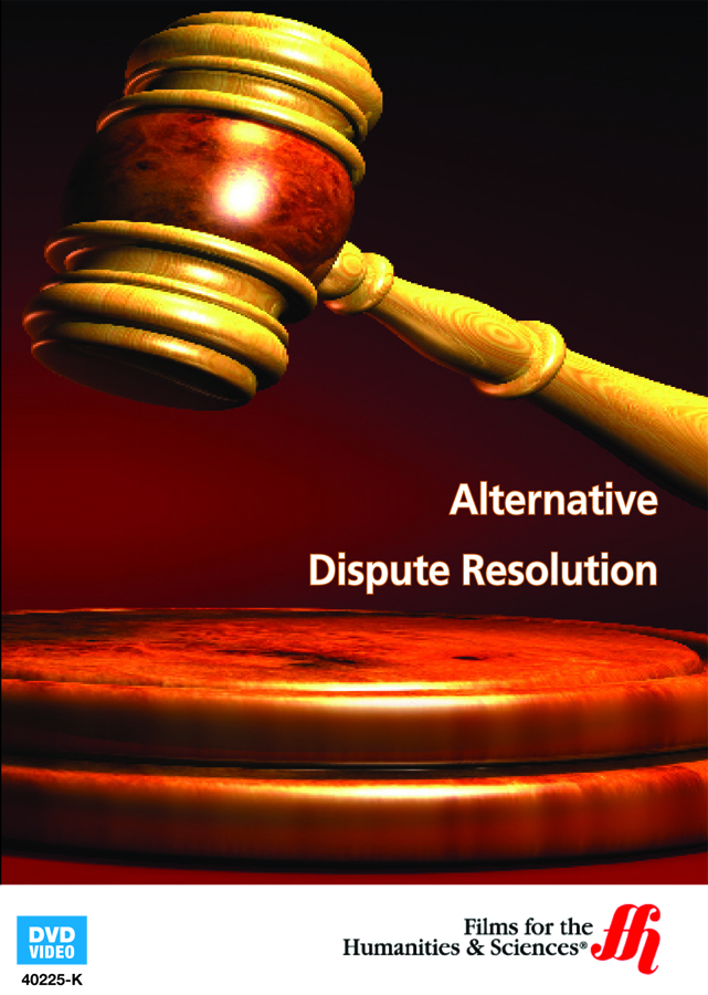 alternate dispute Alternative dispute resolution (adr) includes dispute resolution processes and techniques that fall outside of the government judicial process despite historic resistance to adr by both parties and.