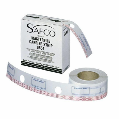 "Safco® MasterFile Polyester Strips 2¼""w x 217'l"