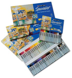 Cray-Pas® Specialist® Oil Pastel 50-Color Set