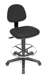 Alvin® Budget Task Chair Drafting Height