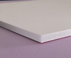 "Elmer's® Foam Board 48"" x 96"" White 3/16"" 25 Sheets"