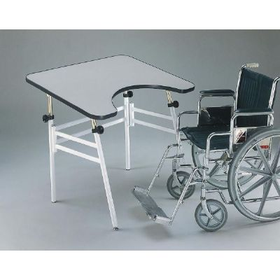 Alvin Foldaway Table - Wheelchair Accessible - Click to enlarge