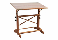 "Alvin� Pavillon Art and Drawing Table Unfinished Wood Top 31"" x 42"""