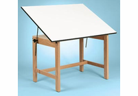 Alvin Titan Wood Table 31X42X30