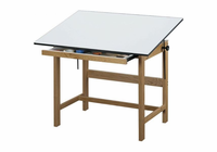 Alvin Titan Wood Table 37.5X60X37