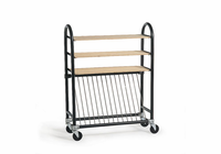 AMACO Brent Kiln Shelf Cart with shelves