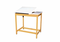 DIVERSIFIED WOODCRAFTS Art/Drafting Table - 2 piece adjustable