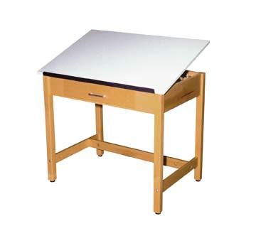 DIVERSIFIED WOODCRAFTS Art/Drafting Table - 36x24x30