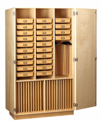 DIVERSIFIED WOODCRAFTS Art Supply Cabinet - Click to enlarge