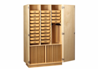 DIVERSIFIED WOODCRAFTS Art Supply Cabinet