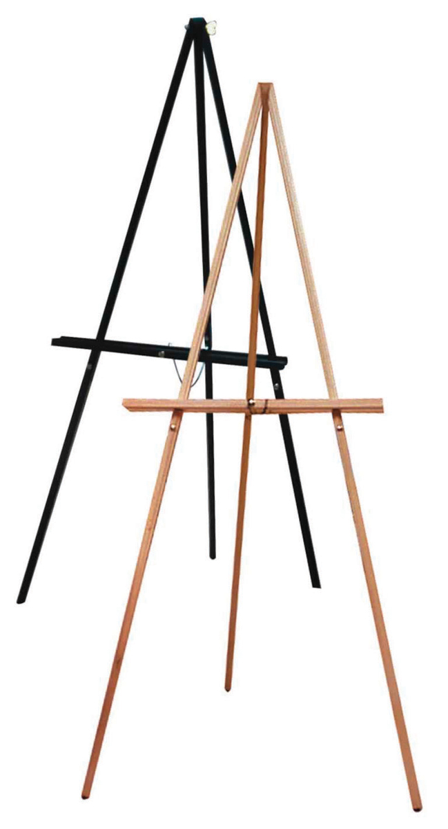 artist s display sketching easels