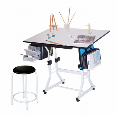 Ashley Creative Hobby Table with Stool - Click to enlarge