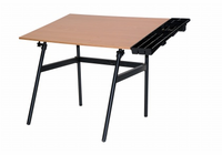 "Berkeley Classic Mini Combo includes Black Base and Cherrywood 30x42"" Top, with Side Tray"