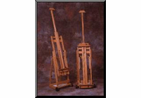 BEST PORTABLE COLLAPSIBLE Easel with Wheels