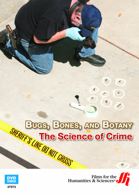 Bugs, Bones, and Botany: The Science of Crime (Enhanced DVD)
