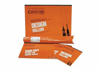 Clearprint� 1000H Series 18 x 24 Unprinted Vellum 100-Sheet Pack