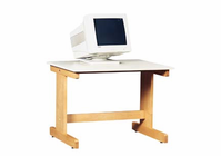 DIVERSIFIED WOODCRAFTS Computer Table-7