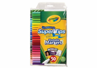 Crayola® SuperTips Washable Marker 50-Color Set